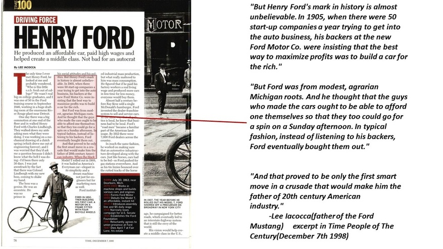 ford henry paper term
